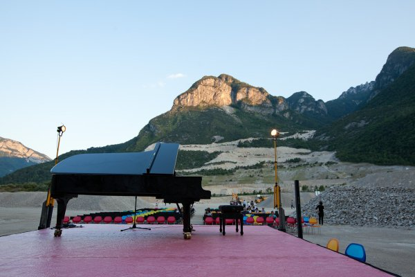 Music and stones – concerto in cava Molino